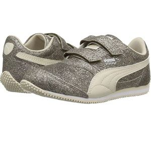 Girls Sparkle Puma Sneakers